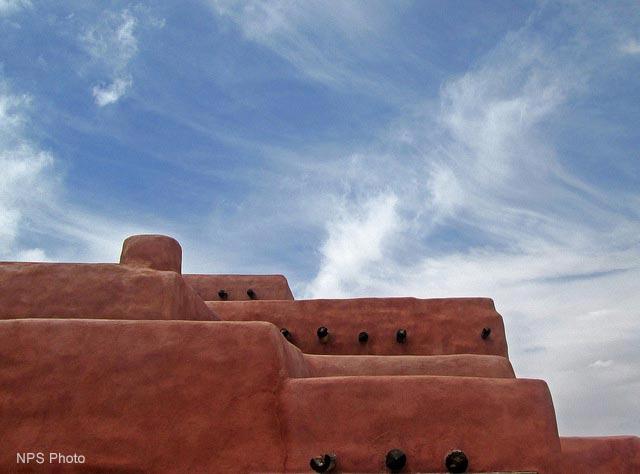Painted Desert Inn Abstract | NPS Photo