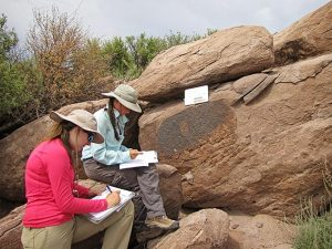 Recording an archaeology site | NPS Photo