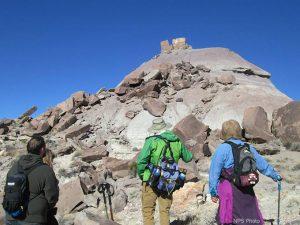Martha's Butte Hikers | NPS Photo